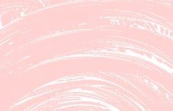 Текстура Grunge Трассировка дистресса розовая грубая предпосылка блестящая Текстура grunge шума пакостная классицистическо иллюстрация вектора