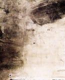 текстура grunge smudged чернилами Стоковое фото RF