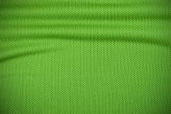 Текстура jersey спорта в зеленом цвете Стоковая Фотография RF