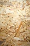Текстура OSB. Рециркулированная прессованная древесина Стоковая Фотография