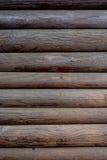 Текстура paneling темного коричневого цвета деревянного Стоковые Изображения