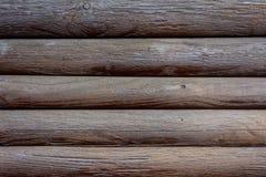 Текстура paneling темного коричневого цвета деревянного Стоковое Фото