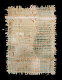 текстура papyrus Стоковое Изображение