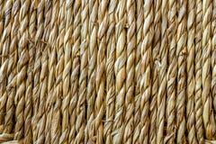 Текстура Ratan - близкое поднимающее вверх Стоковое Фото