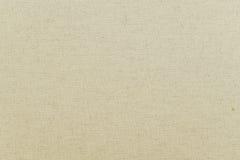 Текстура unbleached linen ткани, предпосылки Стоковое фото RF