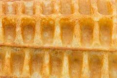 Текстура Waffles Стоковая Фотография RF