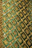 Текстура Wat Phra Kaew Стоковое Изображение