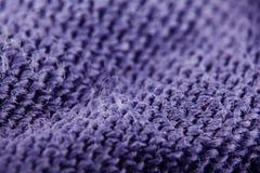 Текстура weave ткани шерстей Стоковое Изображение RF