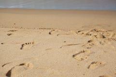 Текстурированная влажная предпосылка пляжа песка стоковое изображение