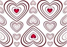 текстурированная влюбленность сердца Стоковые Фотографии RF