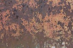 Текстурированная загородка металла ржавая стоковые фотографии rf