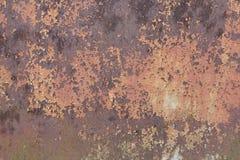 Текстурированная загородка металла ржавая стоковая фотография