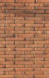 Текстурированная кирпичная стена Стоковые Изображения