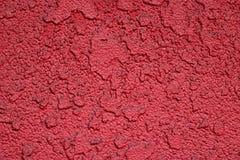 Текстурированная красная предпосылка с поднятым дизайном Стоковая Фотография RF