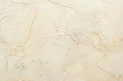текстурированная предпосылка Декоративные стены гипсолита, внешнее украшение фасада Стоковые Фотографии RF