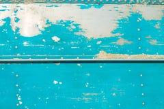 Текстурированная предпосылка - краска шелушения на старой стальной поверхности Стоковые Фото