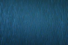 Текстурированная предпосылка в сини челки-вверх Стоковая Фотография RF