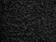Текстурированная предпосылка в черноте Стоковая Фотография