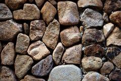 Текстурированная предпосылка каменной стены Стоковые Изображения