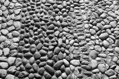 Текстурированная предпосылка от каменных гравия или камешка Стоковая Фотография