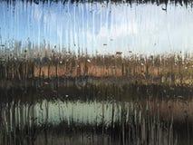 Текстурированная предпосылка стекла уединения Стоковое фото RF