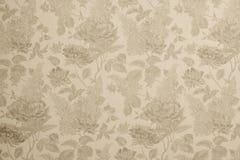Текстурированная предпосылка с картинами цветка Стоковое Изображение