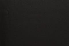 Текстурированная предпосылка цвета черноты ткани Стоковое фото RF