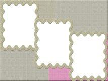 текстурированная рамка Стоковое Изображение RF