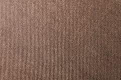 Текстурированная ткань предпосылки большая коричневая Текстура конца-вверх текстильной ткани стоковая фотография