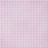 Текстурированная шотландкой предпосылка ткани Стоковое Фото