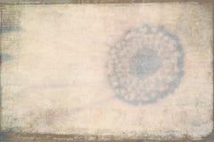 Текстурированная Grunge тема цветка предпосылки Стоковая Фотография RF
