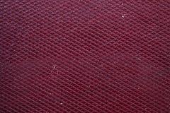 Текстурированная Maroon текстура кожи Стоковые Изображения