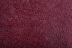 Текстурированная Maroon текстура кожи Стоковое Изображение