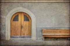 текстурированное деревенское фасада итальянское Стоковая Фотография