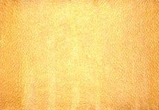 текстурированное золото предпосылки Стоковое Изображение