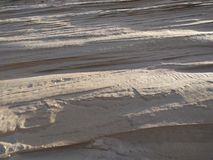 Текстурированное изображение песчанной дюны Стоковые Фотографии RF