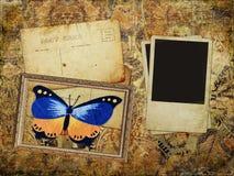 текстурированное изображение grunge предпосылки пустое Стоковая Фотография RF