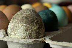 текстурированное пасхальное яйцо Стоковые Изображения RF