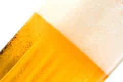 Текстурированное пиво с пеной Стоковая Фотография RF