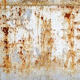 текстурированное ржавое металла предпосылки Стоковая Фотография