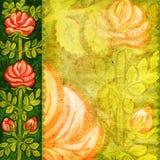 текстурированное флористическое предпосылки иллюстрация штока