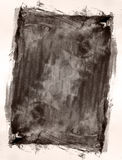 текстурированное grunge граници предпосылки Стоковая Фотография RF