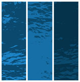 текстурированное grunge знамен Стоковые Изображения