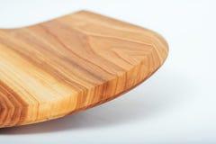 текстурированной деревянной доски, изолированный на белой предпосылке Стоковая Фотография RF