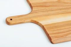 текстурированной деревянной доски, изолированный на белой предпосылке Стоковое Изображение RF
