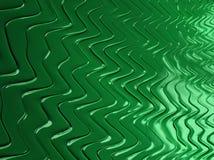 Текстурированные конспектом зеленые линии фрактали, 3d представляют для плаката, des стоковая фотография rf