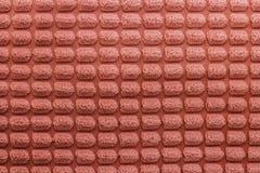 Текстурированные красивые живут предпосылка коралла Цвет 2019 Фундаментальное понятие тенденции текстура валика ткани стоковая фотография rf