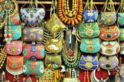 Текстурированные сумками украшения предпосылки пестрой краски стоковые изображения