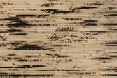 Текстурированный бамбуковый конец-вверх обоев, предпосылка природы Стоковое Изображение RF