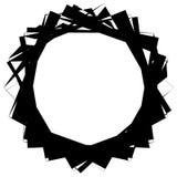 Текстурированный геометрический элемент изолированный на белой предпосылке Стоковое Изображение RF